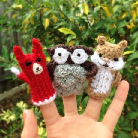 Crochet Finger Puppet Pattern Image Collections Knitting Patterns