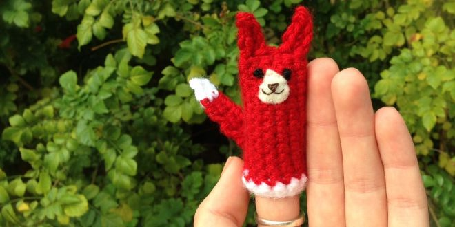 What Does The Fox Say Free Finger Puppet Crochet Pattern Bellus